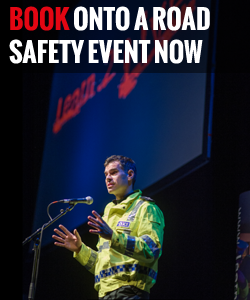 Book onto a road safety event now